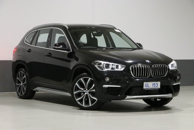 Used BMW X1 F48 MY18 xDrive 25I, 2018 BMW X1 F48 MY18 xDrive 25I Black 8 Speed Automatic Wagon