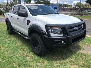 2015 Ford Ranger PX XL 3.2 (4x4) White 6 Speed Automatic Dual Cab Utility
