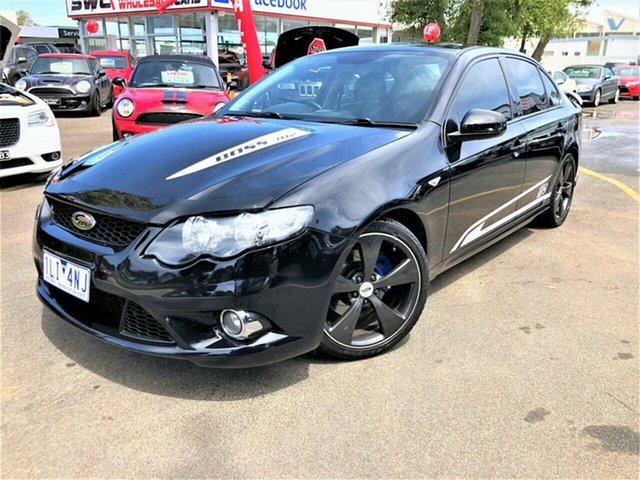 Used Ford Performance Vehicles GS FG 302, 2009 Ford Performance Vehicles GS FG 302 Black 6 Speed Manual Sedan
