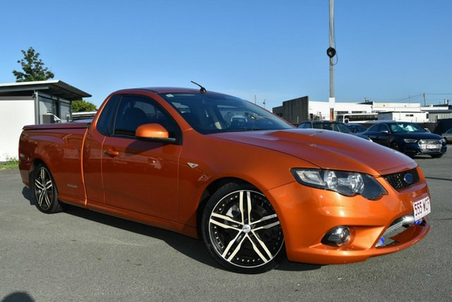 Used Ford Falcon FG Upgrade XR6T, 2011 Ford Falcon FG Upgrade XR6T Orange 6 Speed Manual Utility