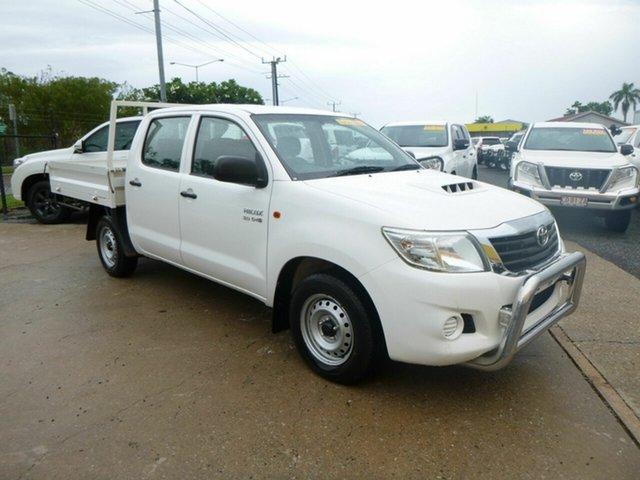 Used Toyota Hilux  , 2014 Toyota Hilux KUN16R MY14 SR White 5 Speed Manual Dual Cab
