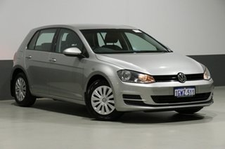 2014 Volkswagen Golf AU MY14 90 TSI Silver 7 Speed Auto Direct Shift Hatchback.