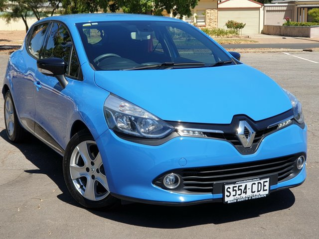 Used Renault Clio IV B98 Expression EDC, 2016 Renault Clio IV B98 Expression EDC Blue 6 Speed Sports Automatic Dual Clutch Hatchback