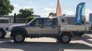 2009 Mazda BT-50 08 Upgrade B3000 DX (4x4) Grey 5 Speed Manual Dual Cab Chassis