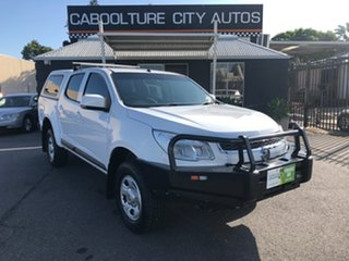2015 Holden Colorado RG MY15 LS (4x4) White 6 Speed Automatic Crew Cab Pickup.