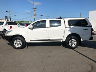 2015 Holden Colorado RG MY15 LS (4x4) White 6 Speed Automatic Crew Cab Pickup