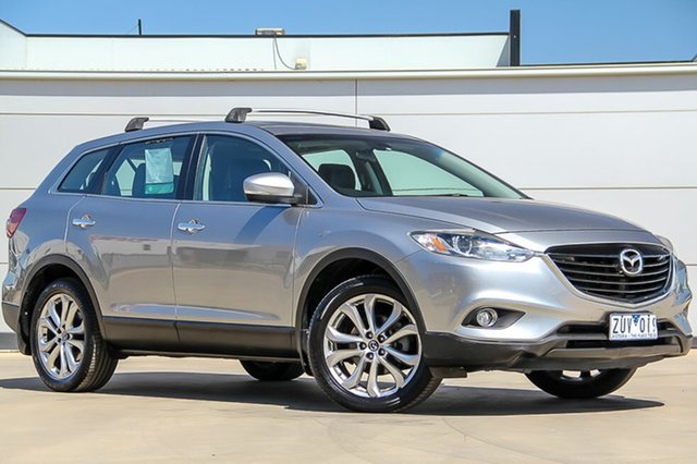 Used Mazda CX-9 TB10A5 Luxury Activematic, 2013 Mazda CX-9 TB10A5 Luxury Activematic Aluminium Silver 6 Speed Sports Automatic Wagon