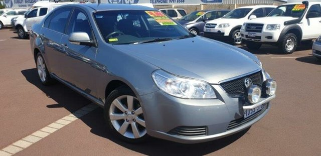 Used Holden Epica EP MY10 CDX East Bunbury, 2011 Holden Epica EP MY10 CDX Silver 6 Speed Sports Automatic Sedan