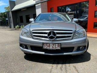2007 Mercedes-Benz C-Class W204 C280 Elegance Metallic Grey 7 Speed Sports Automatic Sedan.