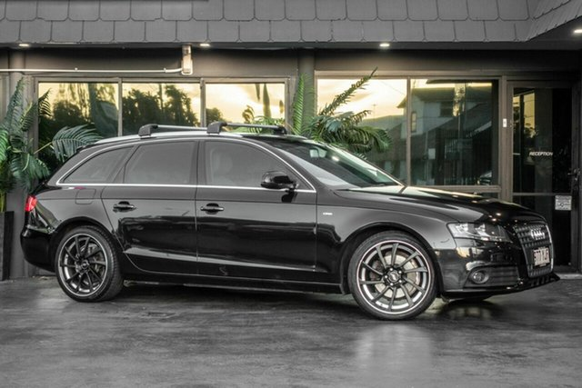 Used Audi A4 B8 8K MY10 Avant Multitronic, 2009 Audi A4 B8 8K MY10 Avant Multitronic Black 8 Speed Constant Variable Wagon
