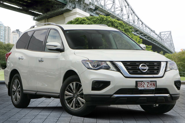 Demo Nissan Pathfinder R52 Series III MY19 ST X-tronic 2WD, 2019 Nissan Pathfinder R52 Series III MY19 ST X-tronic 2WD Ivory Pearl 1 Speed Constant Variable
