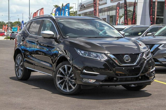 New Nissan Qashqai J11 Series 3 MY20 N-SPORT X-tronic, 2019 Nissan Qashqai J11 Series 3 MY20 N-SPORT X-tronic Pearl Black 1 Speed Constant Variable Wagon