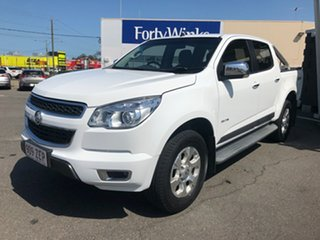 2014 Holden Colorado RG MY14 LTZ (4x4) White 6 Speed Manual Crew Cab Pickup