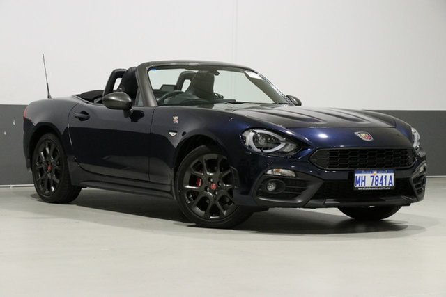 Used Abarth 124  Spider, 2017 Abarth 124 Spider Crystal Blue 6 Speed Manual Roadster