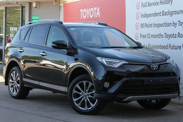 Used Toyota RAV4 ASA44R Cruiser AWD, 2018 Toyota RAV4 ASA44R Cruiser AWD Ink 6 Speed Sports Automatic Wagon