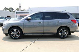 2017 Nissan Pathfinder R52 MY17 Series 2 TI (4x4) Grey Continuous Variable Wagon