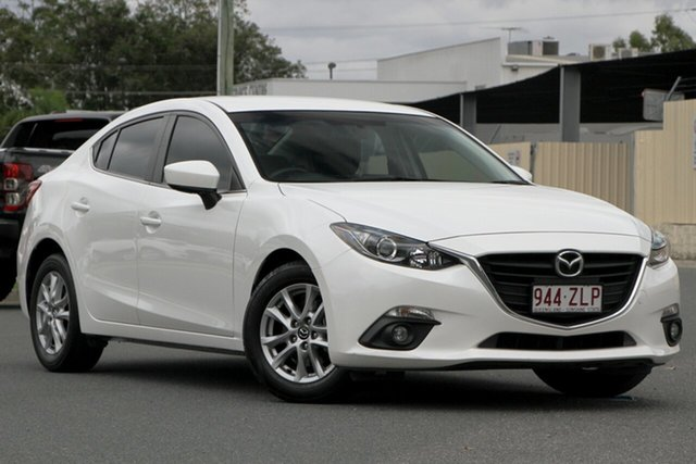 Used Mazda 3 BM5276 Maxx SKYACTIV-MT, 2015 Mazda 3 BM5276 Maxx SKYACTIV-MT Snowflake White 6 Speed Manual Sedan