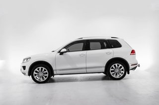 2016 Volkswagen Touareg 7P MY16 V6 TDI Tiptronic 4MOTION White 8 Speed Sports Automatic Wagon
