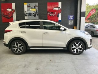 2017 Kia Sportage QL GT-Line White Sports Automatic Wagon