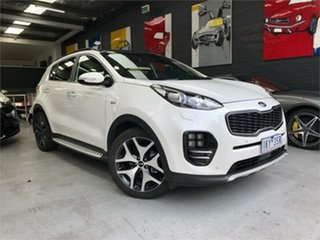 2017 Kia Sportage QL GT-Line White Sports Automatic Wagon.