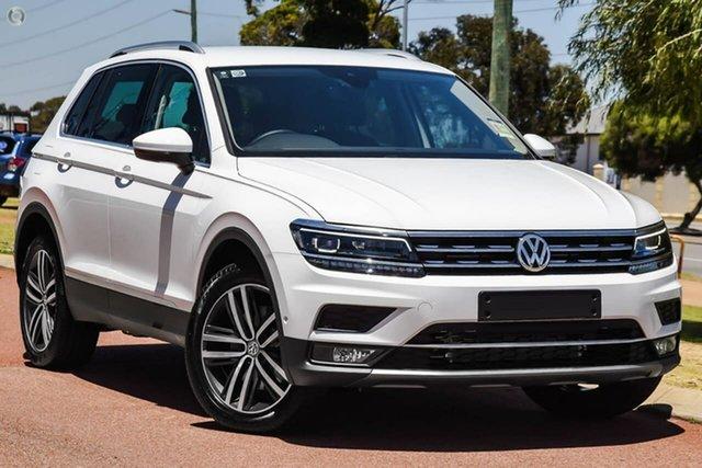 New Volkswagen Tiguan 5N MY20 162TSI DSG 4MOTION Highline, 2019 Volkswagen Tiguan 5N MY20 162TSI DSG 4MOTION Highline White 7 Speed