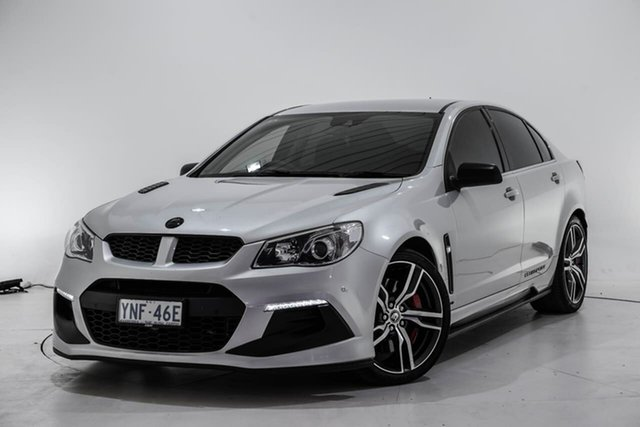 Used Holden Special Vehicles ClubSport Gen-F2 MY16 R8 LSA, 2016 Holden Special Vehicles ClubSport Gen-F2 MY16 R8 LSA Silver 6 Speed Manual Sedan