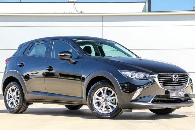Used Mazda CX-3 DK2W7A Maxx SKYACTIV-Drive, 2017 Mazda CX-3 DK2W7A Maxx SKYACTIV-Drive Jet Black 6 Speed Sports Automatic Wagon