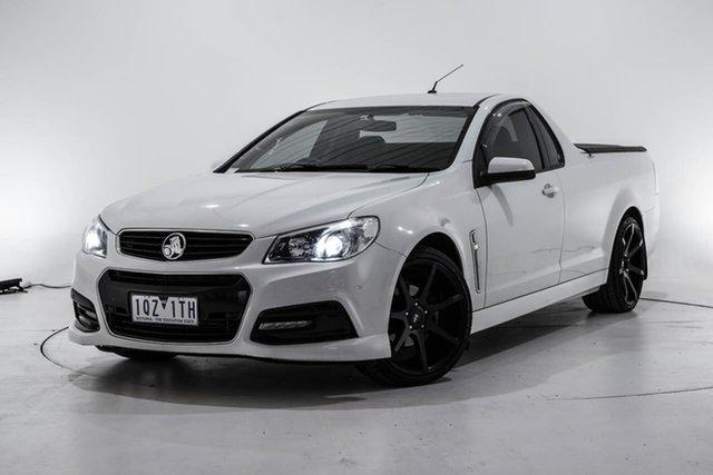 Used Holden Ute VF MY15 SV6 Ute, 2015 Holden Ute VF MY15 SV6 Ute White 6 Speed Sports Automatic Utility