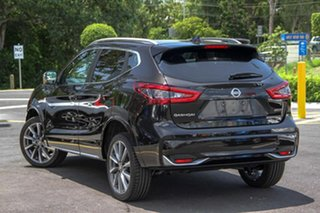 2019 Nissan Qashqai J11 Series 3 MY20 N-SPORT X-tronic Pearl Black 1 Speed Constant Variable Wagon
