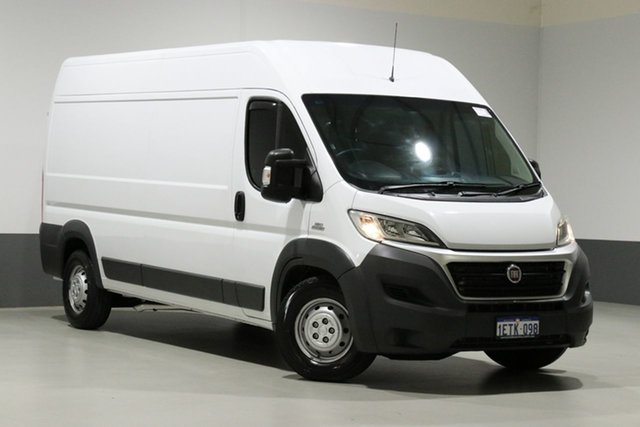 Used Fiat Ducato MY15 MLWB/Low, 2015 Fiat Ducato MY15 MLWB/Low White 6 Speed Manual Cab Chassis