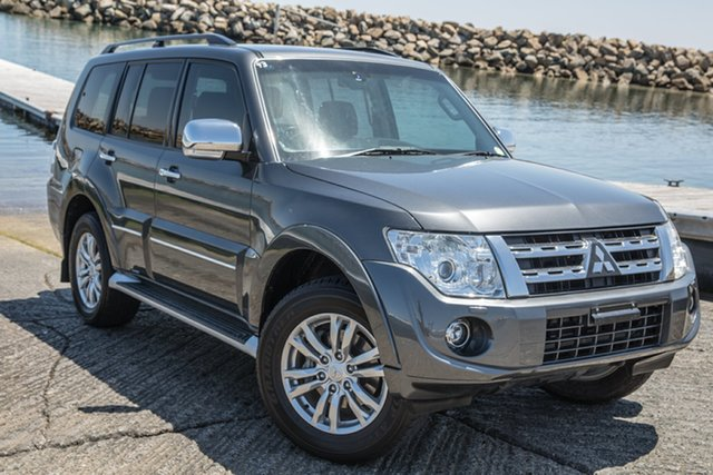 Used Mitsubishi Pajero NW MY14 Exceed, 2014 Mitsubishi Pajero NW MY14 Exceed Grey 5 Speed Sports Automatic Wagon