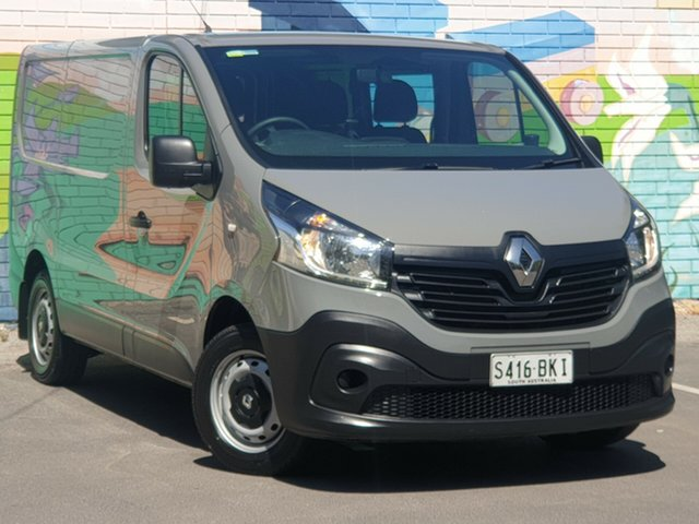 Used Renault Trafic X82 66KW Low Roof SWB, 2016 Renault Trafic X82 66KW Low Roof SWB Grey 6 Speed Manual Van