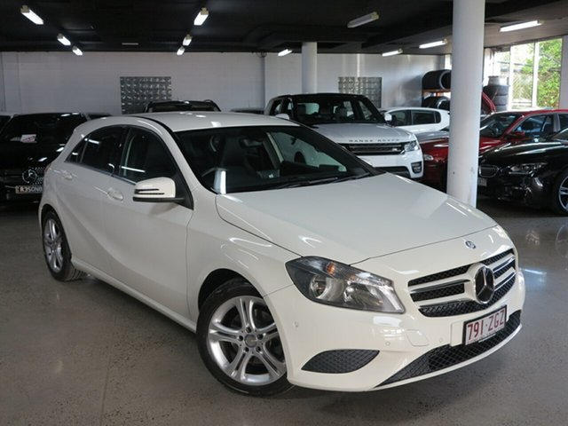 Used Mercedes-Benz A-Class W176 806MY A180 D-CT, 2015 Mercedes-Benz A-Class W176 806MY A180 D-CT White 7 Speed Sports Automatic Dual Clutch Hatchback