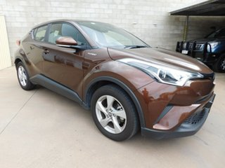 2018 Toyota C-HR NGX10R Update (2WD) Brown Continuous Variable Wagon.