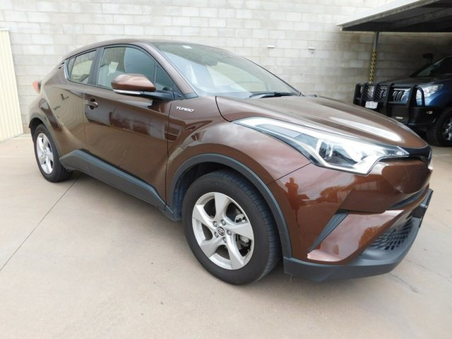 Used Toyota C-HR NGX10R Update (2WD), 2018 Toyota C-HR NGX10R Update (2WD) Brown Continuous Variable Wagon
