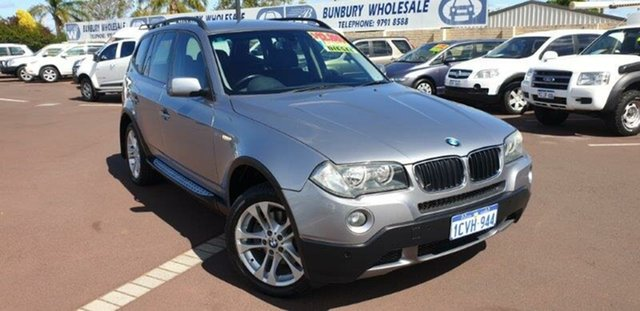 Used BMW X3 E83 MY07 Steptronic, 2008 BMW X3 E83 MY07 Steptronic Silver 6 Speed Sports Automatic Wagon