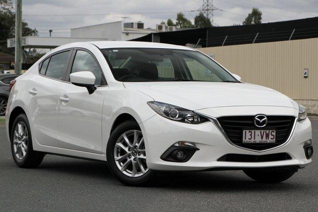 Used Mazda 3 BM5276 Maxx SKYACTIV-MT, 2015 Mazda 3 BM5276 Maxx SKYACTIV-MT Snowflake White 6 Speed Manual Sedan