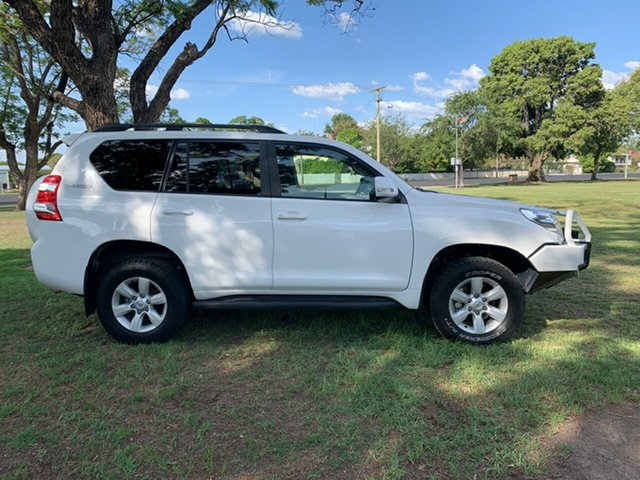 Used Toyota Landcruiser Prado GDJ150R GXL, 2015 Toyota Landcruiser Prado GDJ150R GXL White 6 Speed Sports Automatic Wagon