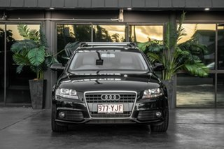 2009 Audi A4 B8 8K MY10 Avant Multitronic Black 8 Speed Constant Variable Wagon.