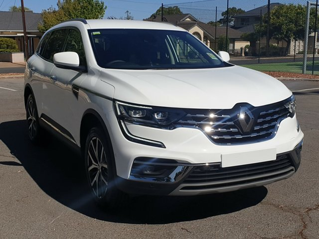 New Renault Koleos HZG MY20 Intens X-tronic, 2019 Renault Koleos HZG MY20 Intens X-tronic White Solid 1 Speed Constant Variable Wagon