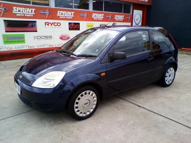 Used Ford Fiesta WP LX Morphett Vale, 2005 Ford Fiesta WP LX Blue 5 Speed Manual Hatchback
