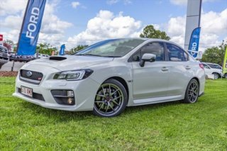 2017 Subaru WRX V1 MY17 STI AWD Premium White 6 Speed Manual Sedan.