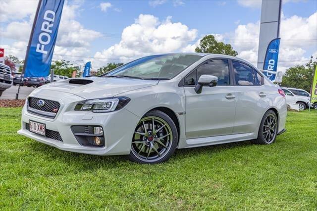 Used Subaru WRX V1 MY17 STI AWD Premium, 2017 Subaru WRX V1 MY17 STI AWD Premium White 6 Speed Manual Sedan