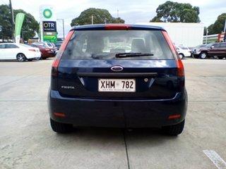 2005 Ford Fiesta WP LX Blue 5 Speed Manual Hatchback