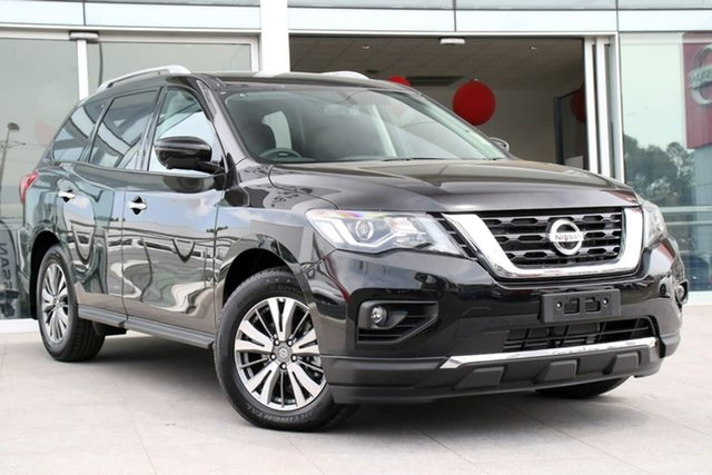 Demo Nissan Pathfinder R52 Series III MY19 ST-L X-tronic 2WD, 2019 Nissan Pathfinder R52 Series III MY19 ST-L X-tronic 2WD Diamond Black 1 Speed Constant Variable