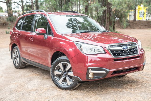 Used Subaru Forester S4 MY18 2.5i-L CVT AWD, 2018 Subaru Forester S4 MY18 2.5i-L CVT AWD Red 6 Speed Constant Variable Wagon