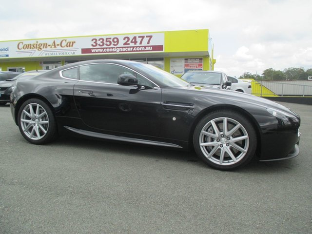 Used Aston Martin V8 MY13 Vantage, 2013 Aston Martin V8 MY13 Vantage Black 6 Speed Manual Coupe