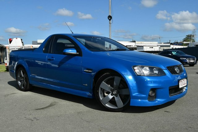 Used Holden Commodore VE II MY12 SS Thunder, 2012 Holden Commodore VE II MY12 SS Thunder Blue 6 Speed Manual Utility