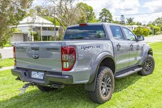 2019 Ford Ranger PX MkIII 2019.75MY Raptor Pick-up Double Cab Conquer Grey 10 Speed Sports Automatic