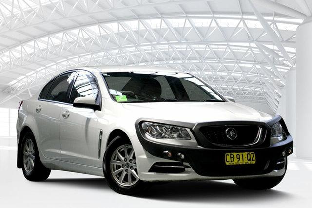 Used Holden Commodore VF MY14 Evoke, 2014 Holden Commodore VF MY14 Evoke Heron White 6 Speed Sports Automatic Sedan